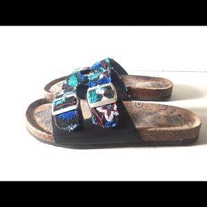 Mukluks Embroidered Slip On